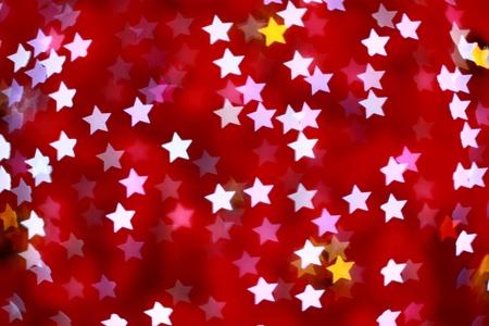 pink defocused star background (Bokeh) for festival
