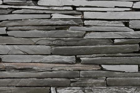 Granite wall on dark color Stock Photo