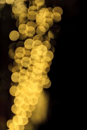 gold defocused circle background (Bokeh) for festival photo