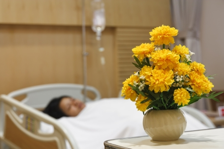 marigold for care in patient room