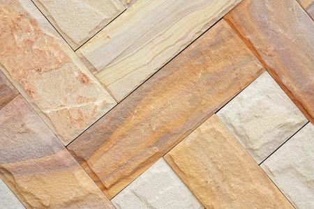 civil disorder: granite block texture for background Stock Photo
