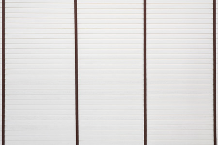 white bamboo blind for background Stock Photo
