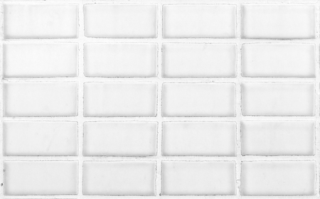 white ceramic wall for background Stock Photo