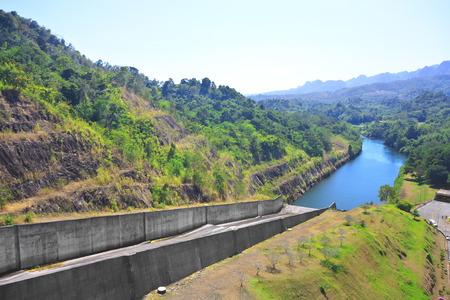 Dam for Agriculture and Power Plant at Thailand