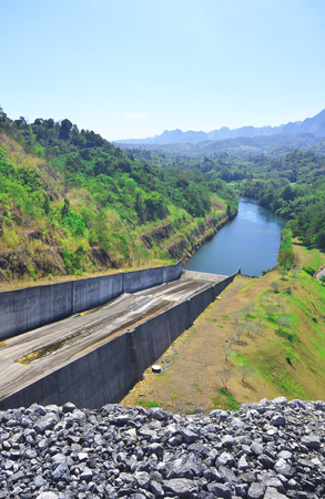 Vajiralongkorn Dam for Agriculture and Power Plant at Thailand