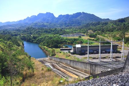 Vajiralongkorn Dam for Agriculture and Power Plant at Kanchanaburi