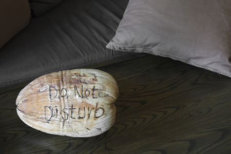 do not disturb on dry coconut in the room