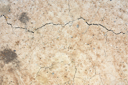 lacks: ground or land crack and soil drought on the area lacks water for background Stock Photo
