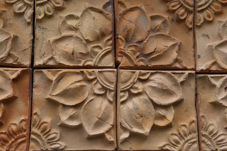 L'argile durcie pour les planchers ou les murs