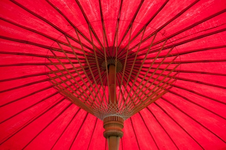 inside Red umbrella photo