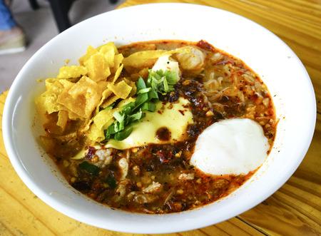 thai noodle: Spicy Thai noodle