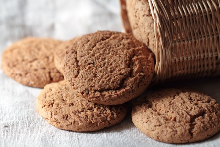 Oat cookies photo