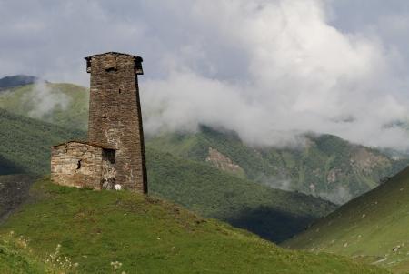 Architectural monuments of Upper Svanetia  photo