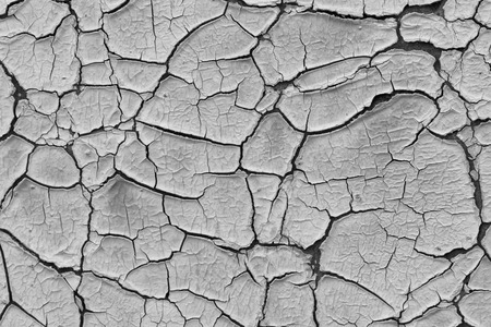 flaky: Texture of the old cracked paint Stock Photo