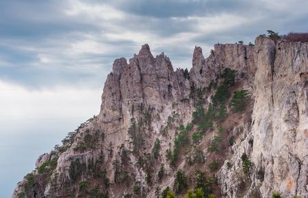 Ai-Petri is a peak in the Crimean Mountains photo