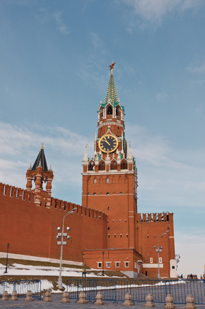The Kremlin at the Moscow Stock Photo