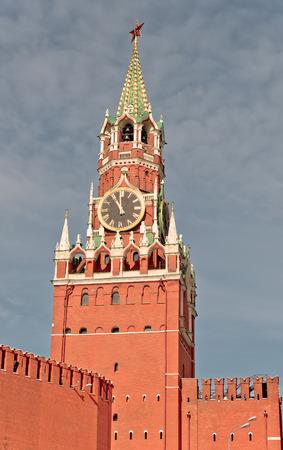Spasskaya Tower of Moscow Kremlin photo