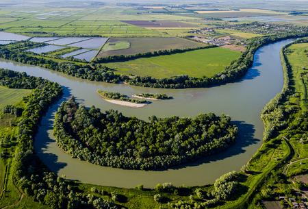 kuban: The river Kuban in Krasnodar region, Russia
