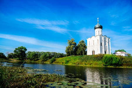 nerl: The Church of the Intercession of the Holy Virgin on the Nerl River Russian: Tserkov Pokrova na Nerli is an Orthodox church and a symbol of medieval Russia.