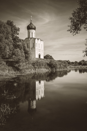 nerl: Church of the Intercession on the Nerl near the village Bogolyubovo, Russia