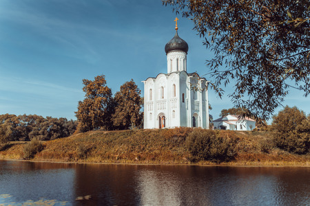bogolyubovo: Church of the Intercession on the Nerl near the village Bogolyubovo, Russia
