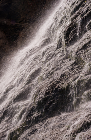 Waterfall. Elbrus, Greater Caucasus