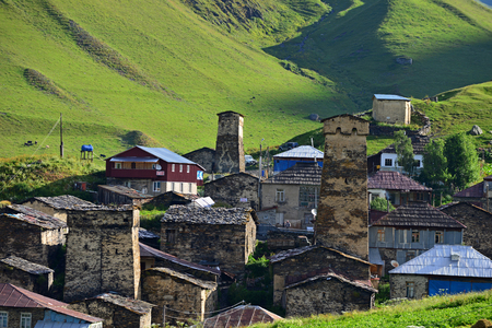 architectural heritage of the world: Architectural monuments of Upper Svanetia are included in a list of UNESCO World Heritage Sites.