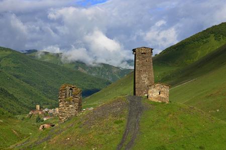 Architectural monuments of Upper Svanetia