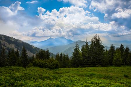 ukraine: Carpathians mountains, Ukraine