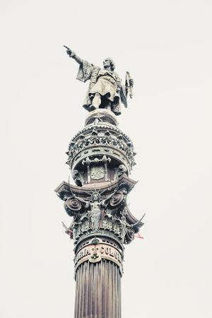 colom: Column of Christopher Columbus in Barcelona