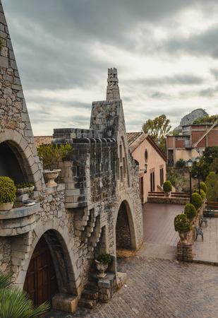 GARRAF, SPAIN - OCTOBER 11, 2016: Gaudi Garraf, Catalonia, Spain.