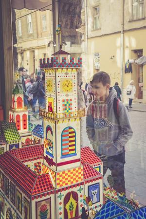 LVIV, UKRAINE - MARCH 28, 2017: Lviv Workshop of Caramel