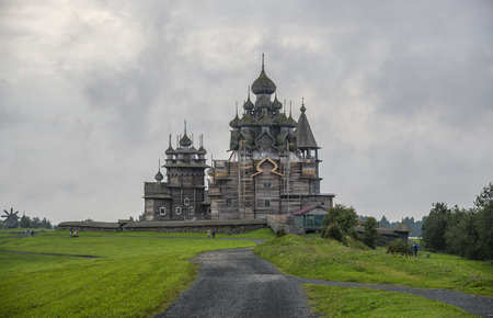 Kizhi Pogost is a historical site dating from the 17th century on Kizhi island