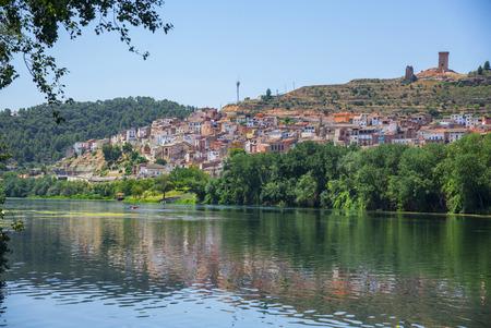 Asco on the Ebro river in South Catalonia, Spain