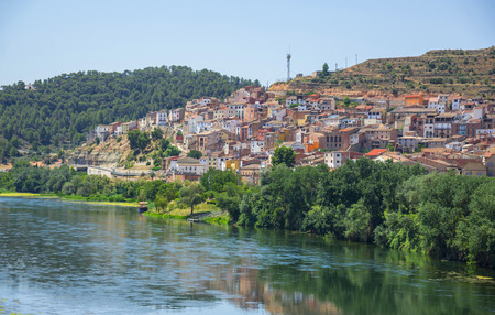 The village of Asco in Southern Catalonia, Spain