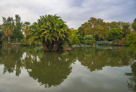 Ciutadella Park Barcelona, Spain Stock Photo