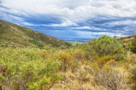 Summer landscape. Spain, Catalonia, Costa Brava Stock Photo