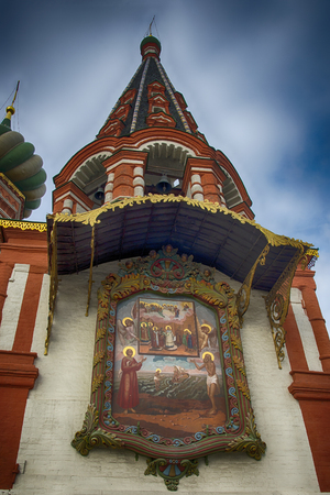 Saint Basils Cathedral (The Cathedral of Vasily the Blessed). Moscow, Russia