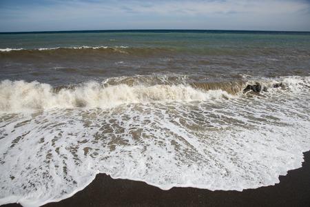 Beautiful summer landscape on the Black Sea