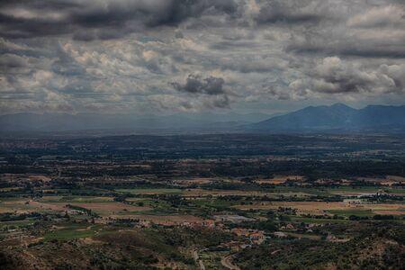 Summer landscape in Catalonia. Spain