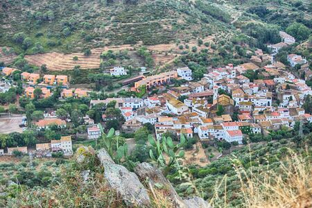 View on the traditional village in Costa Brava, Spain
