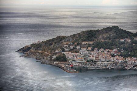 View on the Port de la Selva, village in Costa Brava, Spain Reklamní fotografie