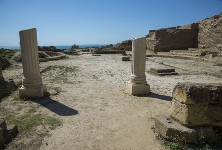 Nymphaion - significant centre of the Bosporan Kingdom, situated on the Crimean shore of the Cimmerian Bosporus