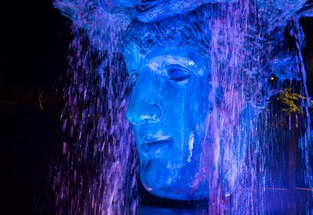 ODESSA / UKRAINE - SEPTEMBER 23, 2018: Sculpture