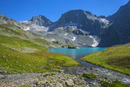 Bolshoye Imeretinskoye Lake - the largest lake in the Caucasus Nature Reserve