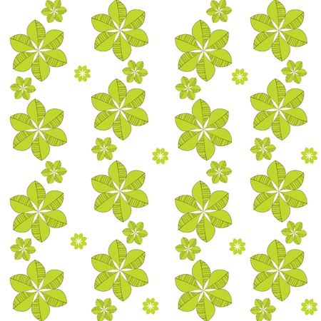 Seamless green pattern Stock Vector - 12854968