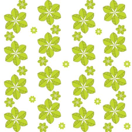 Seamless green pattern Stock Vector - 12854968
