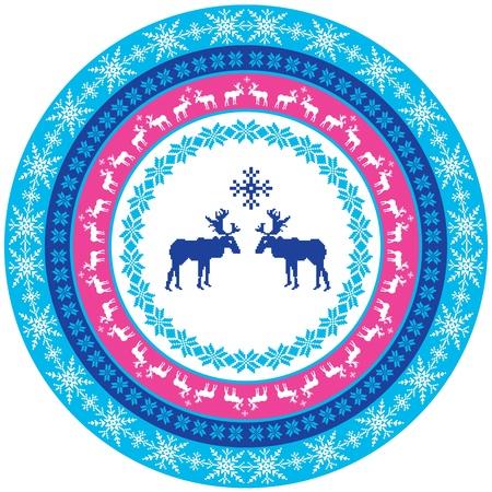 scandinavian christmas: Scandinavian design