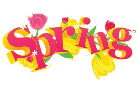 векторный весна
