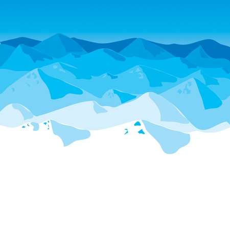 Mountains Stock Vector - 12854865